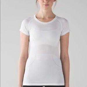 Lululemon Swifty Tech Short Sleeve White Size 12